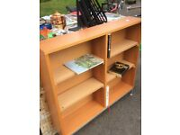 Narrow bookcase with 6 shelves