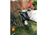 Green & black sym jungle 50cc