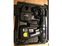 Direct Power 18 volt Cordless Hammer Drill with battery, case and Charger