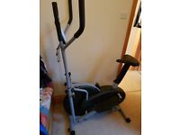XS Sports Pro 2-in1 Elliptical Cross Trainer Exercise Bike - Used Great Condition £60.00