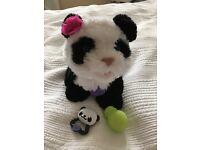 "Fur Real Friends Panda ""Pom Pom"""