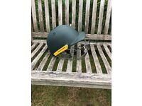 Masuri cricket helmet green junior
