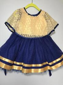 Girls party dress 18-24 months -unused