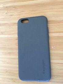 Iphone 6/6s case spigen grey brand new
