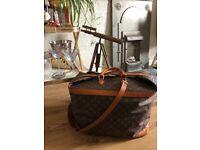 Vintage Louis Vuitton Monogram Travel Case/Bag