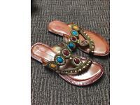 Pakistani flat sandals