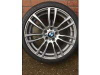 "Genuine 19"" BMW 403 M Sport Alloys & RunFlat Tyres"