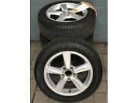 """USED (Excellent Condition) - 16"""" Matres Alloy Wheels & Goodyear Eagle Vector Tyres-205/55/R16 94V"""