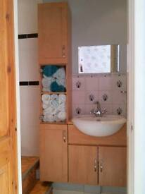 Bathroom Washbasin and Storage Units