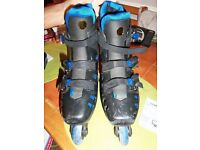 ROLLERBLADES/ONLINE BOOTS SIZE 6