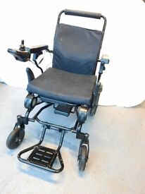 Folding Electric Wheelchair Very light weight lithium powered ** I can deliver **