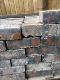 Reclaimed blue bricks imperial size