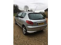 Peugeot 206 quicksilver 2.0 deisel ~ immaculate car