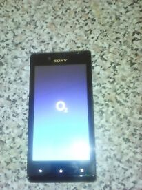 **Sony Xperia E on O2**