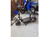 1000w electric scooter 48v barely used excellent for commute
