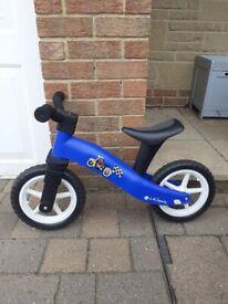 Boys' ightweight balance bike, great condition