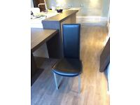 Bo Concept Black dining chairs - 6