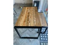 Table 140cm and bench seat