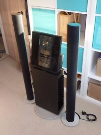 Bang & Olufsen sound system. Beosound 3000 CD and Tuner + Beolab 6000 Speakers