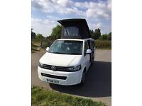VW Campervan T5 4 berth with inflatable drive away awning