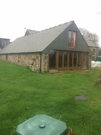 4 bedroom recently converted barn for long term residential let