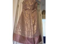 Nicholas Millington Jacquard Prom Dress size 10