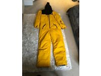 Oneskee Mark 4 Yellow & Black Men's Ski Suit - Large (Size: M4)