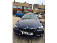 Beautiful Metallic Blue 520d SE Efficient Dynamics Auto Diesel (Fully Leather and Walnut Trim)