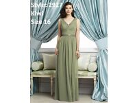Dessy Bridesmaid Dress 2927 in Kiwi size 16