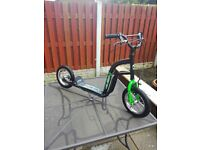 bmx scooter alien style ,good condition ,with stand ,all in good working order