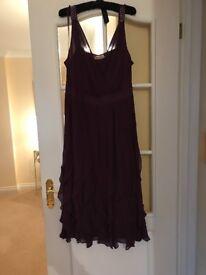 Jacques Vert purple dress and bolero