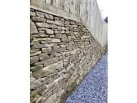 Dry Stone walling.