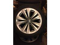 "BMW Geninue Winter 18"" Wheels and Tyres"