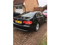 BMW 330d coupe .. black .. diesel .. great car !!!!