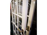 Internal 15 glass panel doors
