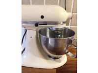 Kitchen aid and food grinder attachment