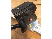 """Manfrotto 701HDV Fluid Head with 47"""" Slider"""