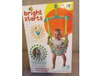 Bright Sparks Pondside Pals baby door jumper/ door bouncer