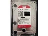 2x 4TB Western Digital Red HDD