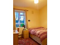 Spacious Double Bed Room for Rent; newly refurbished with living room,kitchen, porch and garden