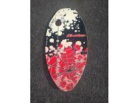 Skim board for sail
