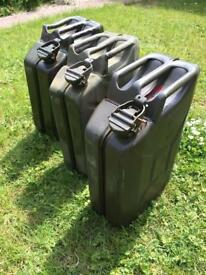 Jerry cans metal 20litre