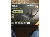 Asus dsl-n55u dual band router