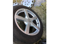Fox Alloy wheels Toyota auris avensis camry corolla MR2 previa rav4 supra verso 17 inch alloys wheel