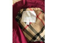Burberry girls red coat age 6