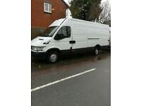 55 reg Ford iveco extra long wheel base van start drive but need some work smoke spears or repair