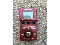 Zoom Multi Stomp Bass Pedal.