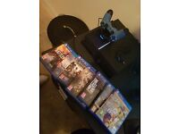 Playstation4 1TB Matt Black + latest games+ new controller + cables + accessories £300 ONO