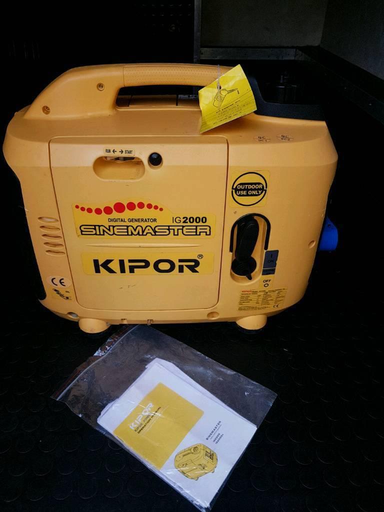 Kipor ig2000 silent generator