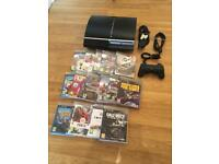 80gb PlayStation 3 Console Complete With 15 Games - £50 no offers (PS3)